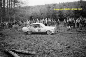 Ford Escort RS1600 Julian Raymond/Daniels RAC Rally 1980